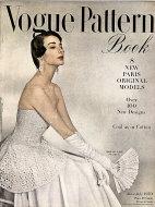 Vogue Magazine Pattern Book June 1950 Magazine