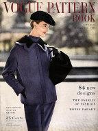 Vogue Magazine Pattern Book October 1954 Magazine