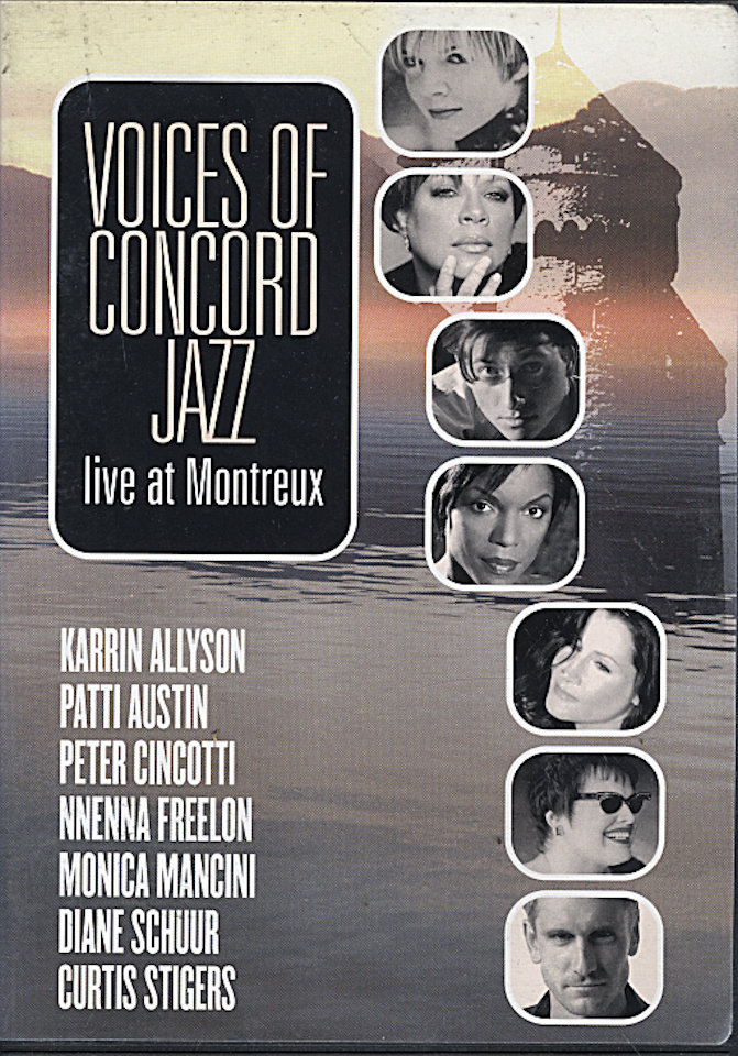 Voices of Concord Jazz: Live At Montreux DVD