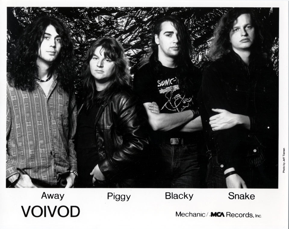 Voivod Promo Print