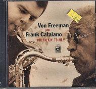Von Freeman and Frank Catalano CD