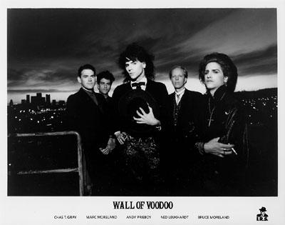 Wall of Voodoo Promo Print