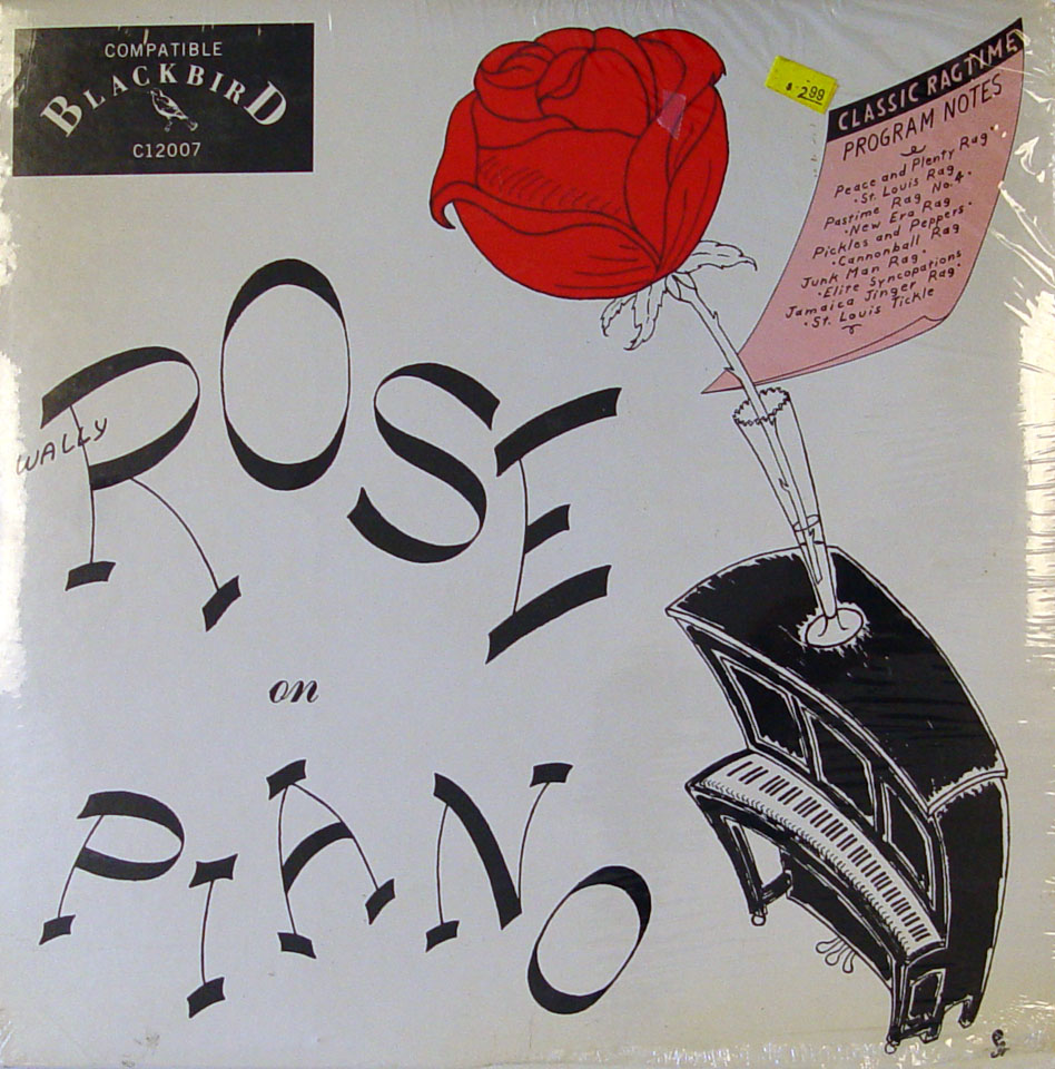 "Wally Rose Vinyl 12"" (New)"
