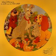 "Walt Disney's Lady And The Tramp Vinyl 12"" (Used)"