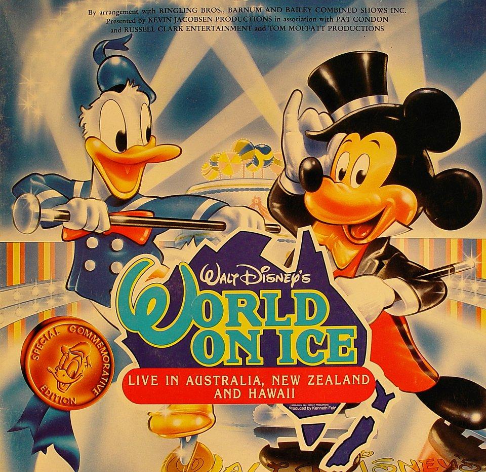 Walt Disney's World on Ice Program