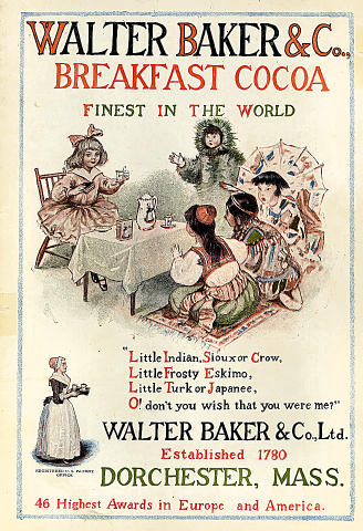 Walter Baker & Co., Breakfast Cocoa Vintage Ad