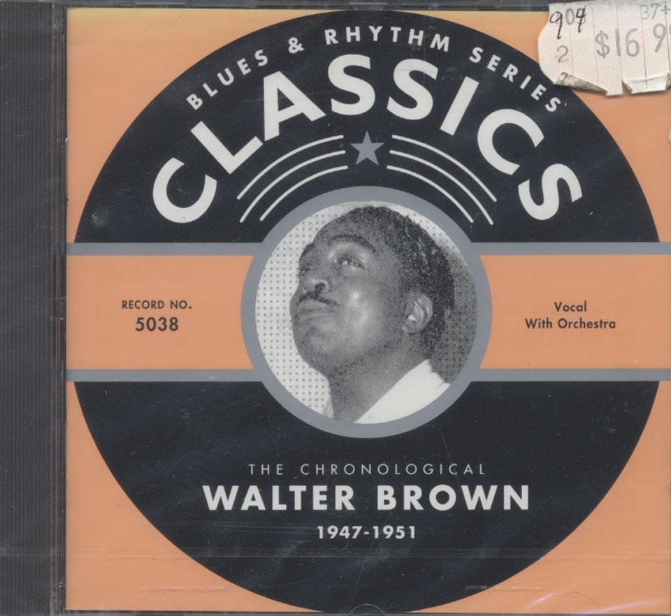 Walter Brown CD