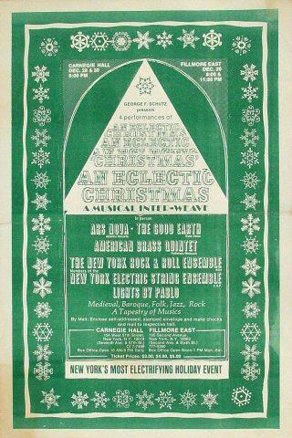 Walter Carlos Handbill