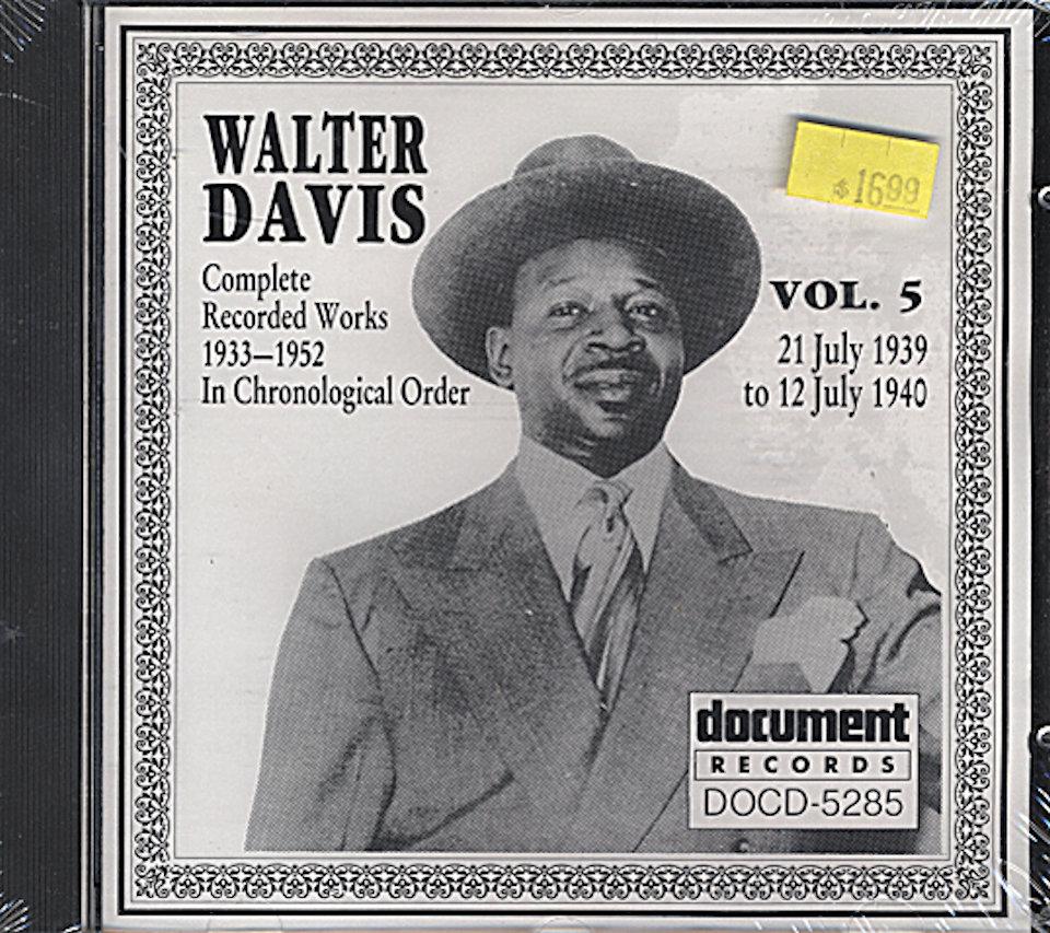 Walter Davis CD