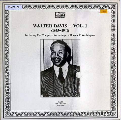 "Walter Davis Vinyl 12"" (New)"