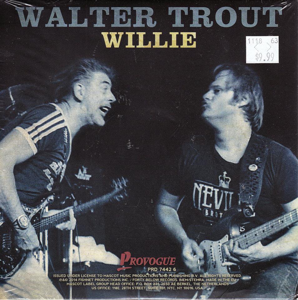 "Walter Trout Vinyl 7"" (New)"