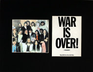 War Is Over! Vintage Print