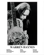 Warren Haynes Promo Print