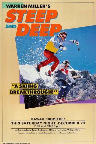 Warren Miller's Steep and Deep Poster