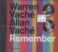 Warren Vache / Allan Vache CD