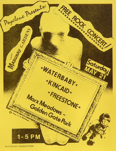 Waterbaby Handbill
