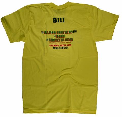 Watkins Glen Summer Jam Men's T-Shirt reverse side
