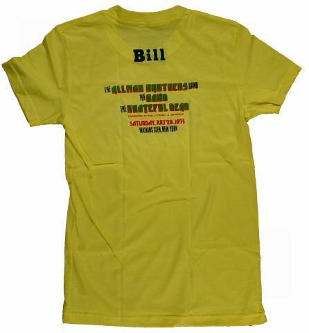 Watkins Glen Summer Jam Women's T-Shirt reverse side