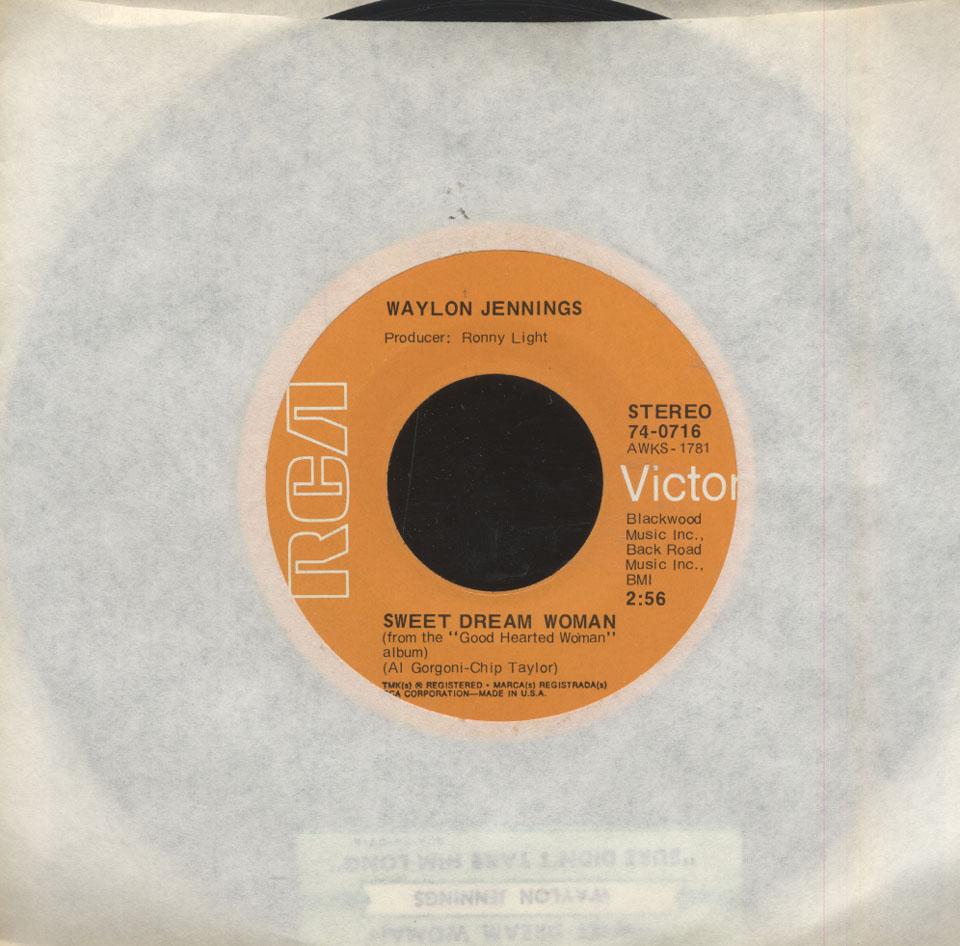 Waylon Jennings Vinyl 7 Quot Used 1972 At Wolfgang S