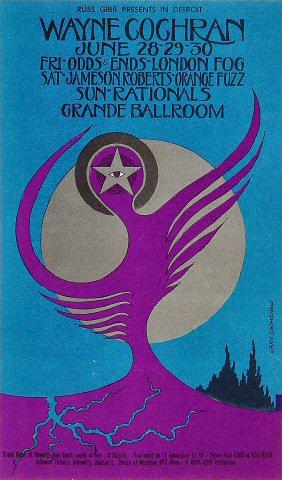 Wayne Cochran & the C.C. Riders Postcard