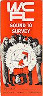WCFL Sound 10 Survey Program