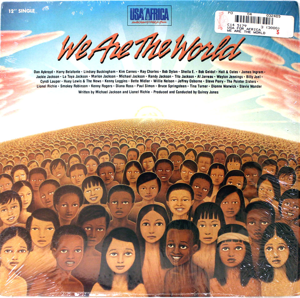"""We Are The World Vinyl 12"""" (Used)"""