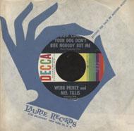 "Webb Pierce and Mel Tillis Vinyl 7"" (Used)"