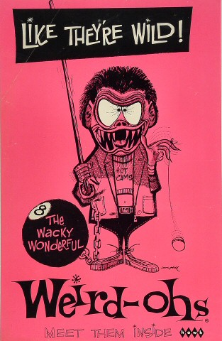 Weird-ohs Poster