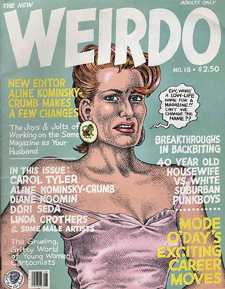 Weirdo #18 Comic Book