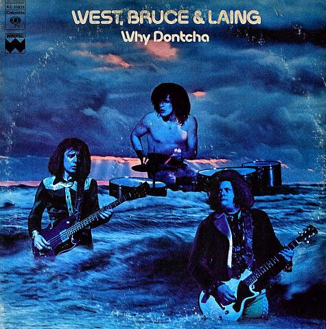 """West, Bruce & Laing Vinyl 12"""" (Used)"""