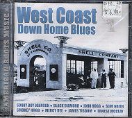 West Coast Down Home Blues CD