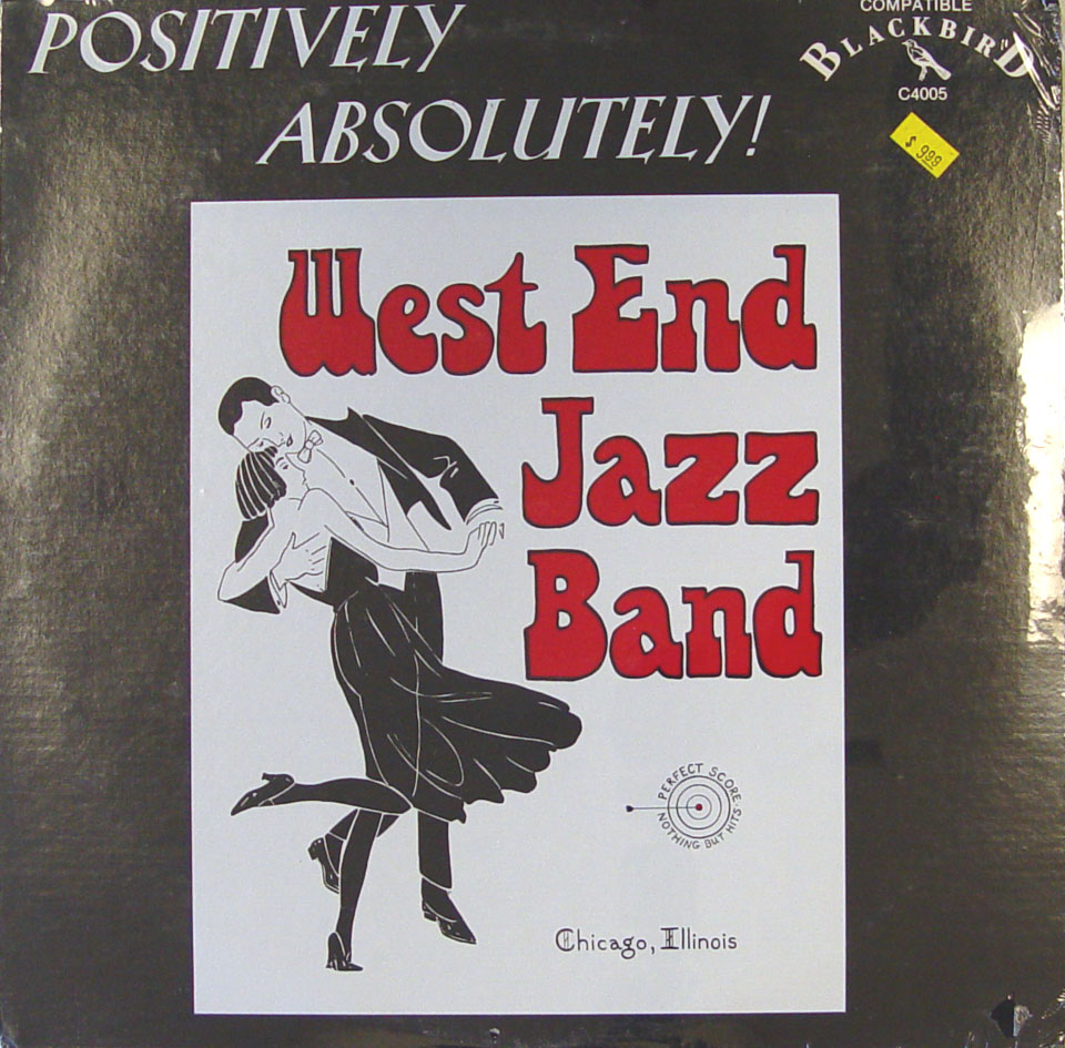 """West End Jazz Band Vinyl 12"""" (New)"""
