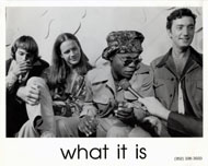 What it Is Promo Print