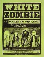 White Zombie Handbill