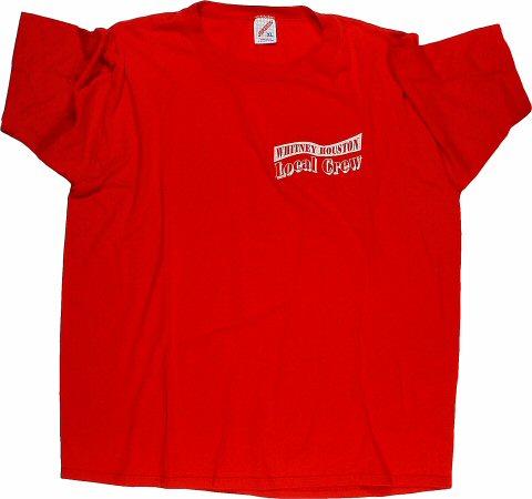 Whitney Houston Men's Vintage T-Shirt