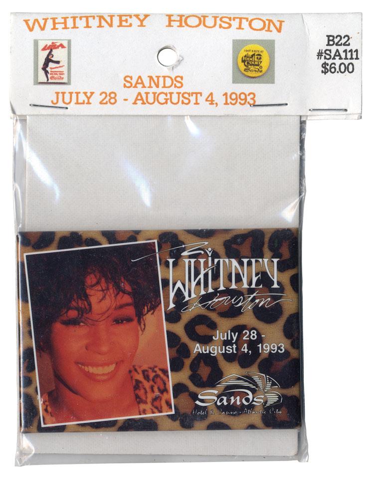 Whitney Houston Pin
