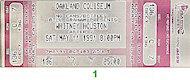 Whitney Houston Vintage Ticket