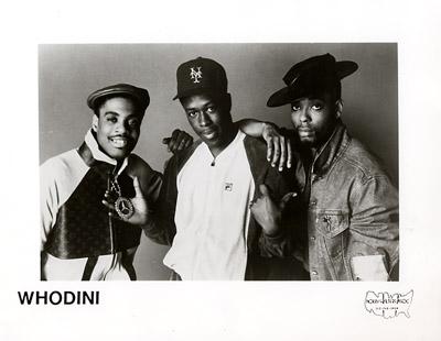Whodini Promo Print