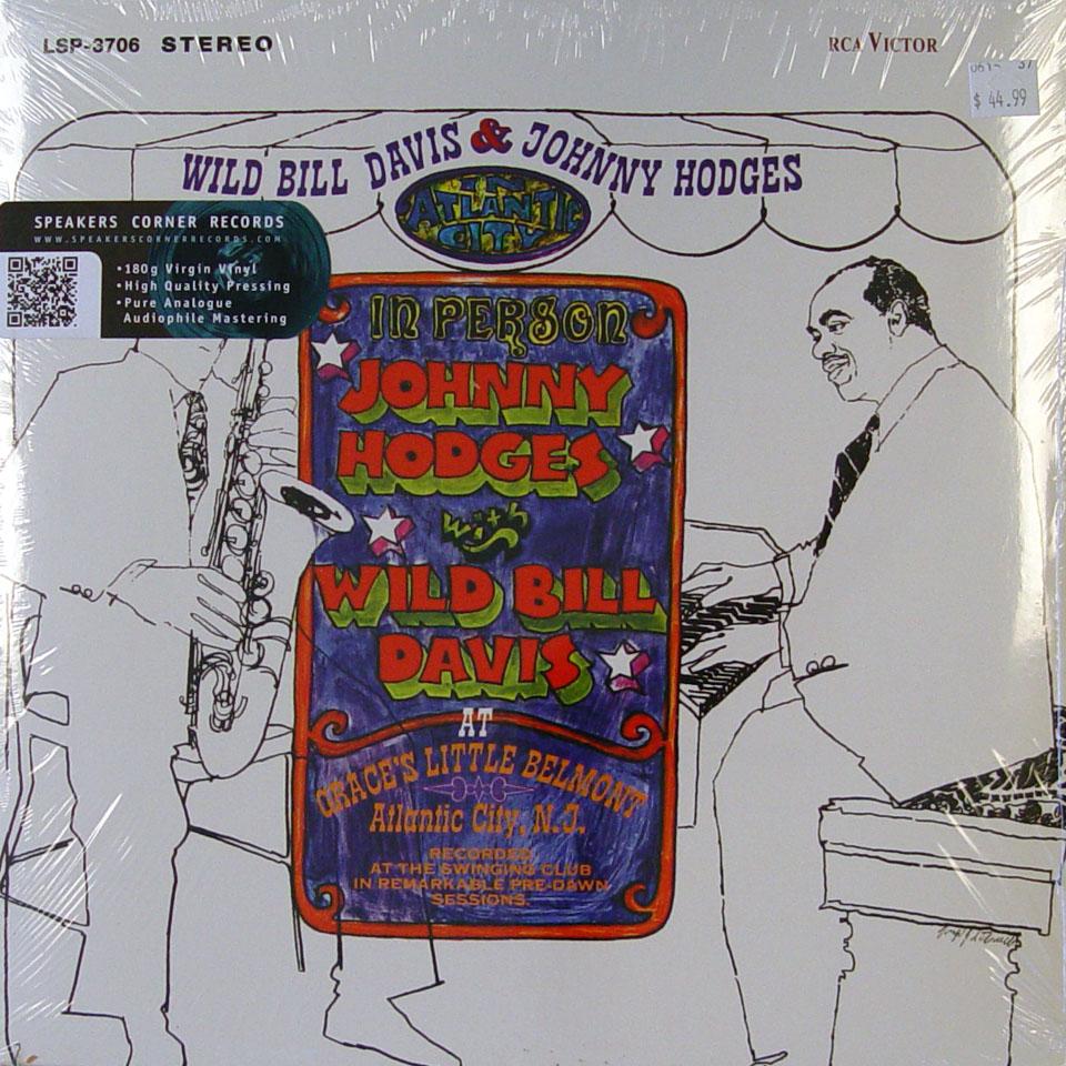"""Wild Bill Davis / Johnny Hodges Vinyl 12"""" (New)"""