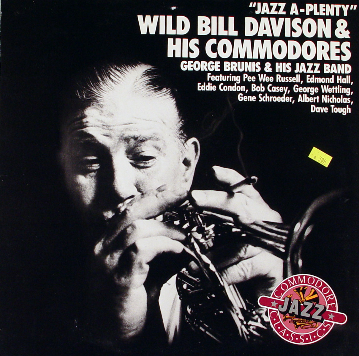 "Wild Bill Davison & His Commodores Vinyl 12"" (New)"