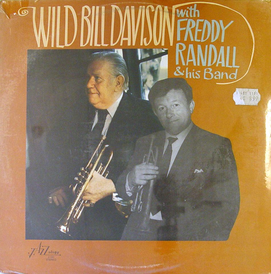 "Wild Bill Davison / Freddy Randall Vinyl 12"" (New)"