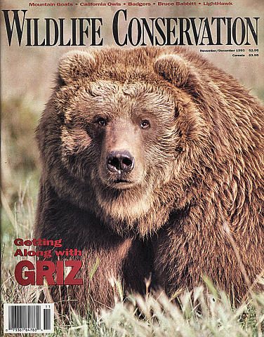 Wildlife Conservation Vol. 96 No. 6 Magazine