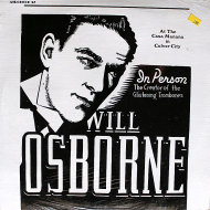 "Will Osborne Vinyl 12"" (New)"