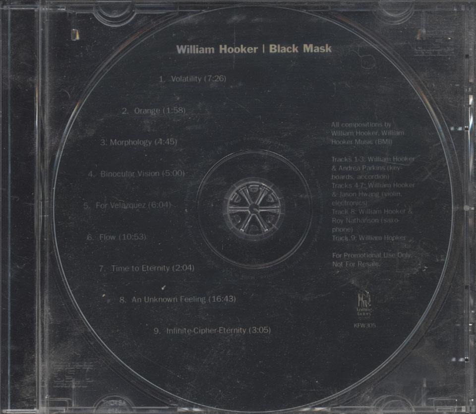 William Hooker CD