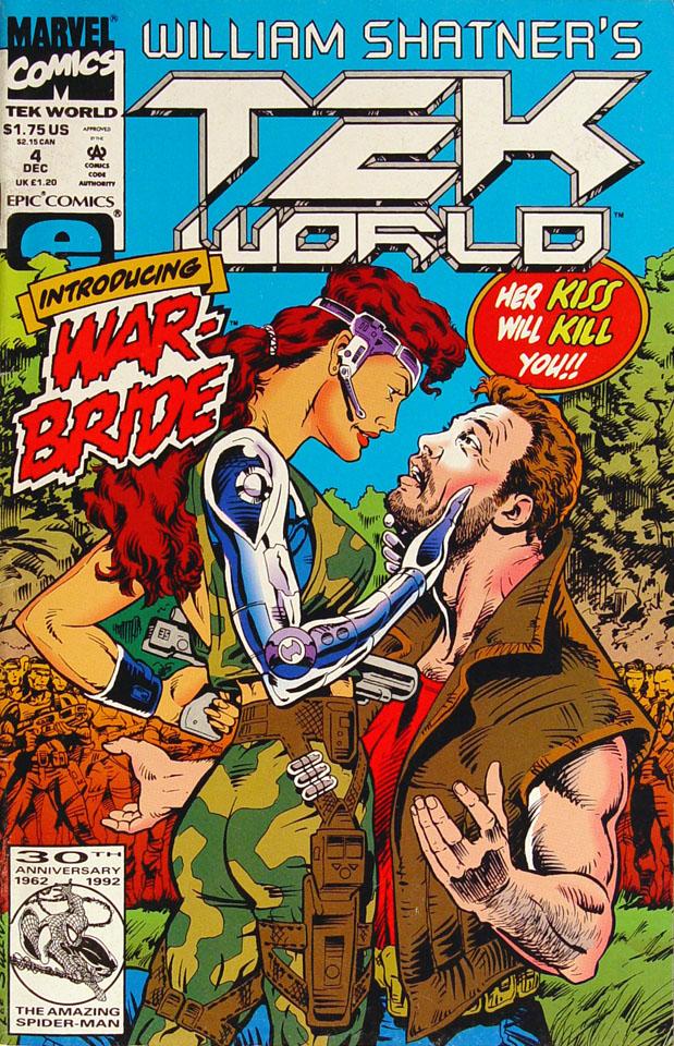 William Shatner's Tekworld Comic Book