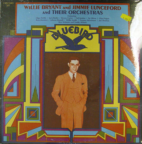 """Willie Bryant and Jimmie Lunceford and Their Orchestras Vinyl 12"""" (New)"""