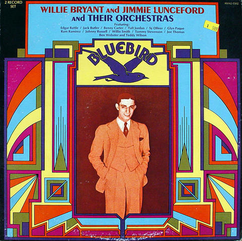 """Willie Bryant and Jimmie Lunceford and Their Orchestras Vinyl 12"""" (Used)"""