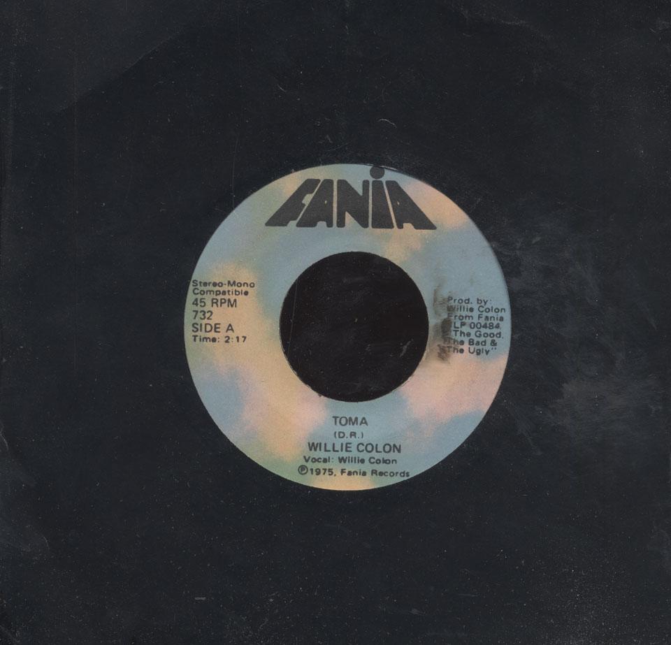 """Willie Colon Vinyl 7"""" (Used)"""