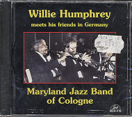 Willie Humphrey Plays With The Maryland Jazz Band CD