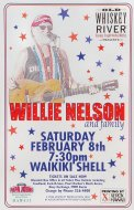 Willie Nelson and Family Handbill